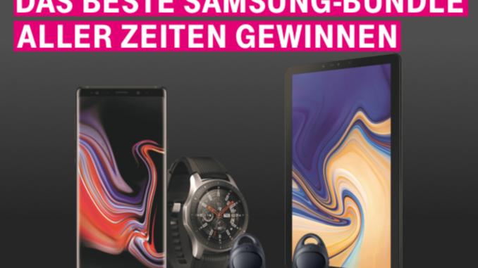 Das Samsung Bundle Gewinnspiel
