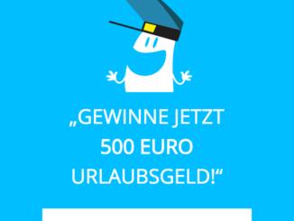 500 EUR Urlaubsgeld zu gewinnen
