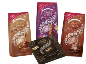 Lindt Schokoladenpakete
