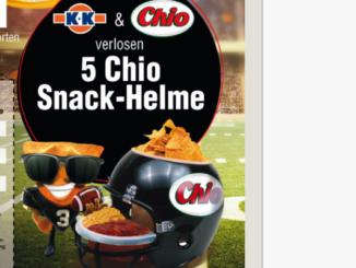 Chio Chips Helm zu gewinnen