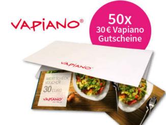 Vapiano Gutscheine