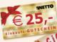 25 EUR Netto Gutschein zu gewinnen