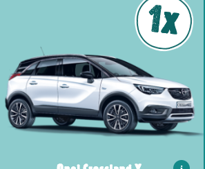 Opel Crossland X gewinnen