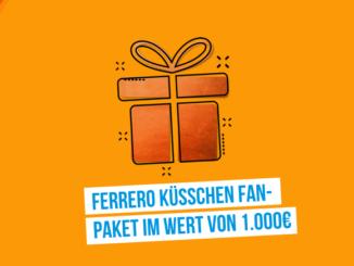 Ferrero Küsschen Fanpaket