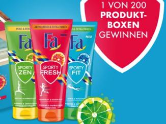 Fa Fresh Produktboxen gewinnen