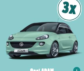Opel ADAM zu gewinnen