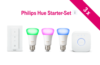 Philips Hue Starter Set gewinnen