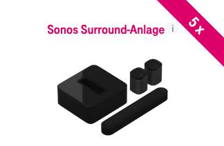 Sonos Surround System zu gewinnen