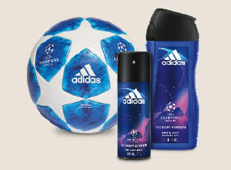 Adidas Bälle zu gewinnen