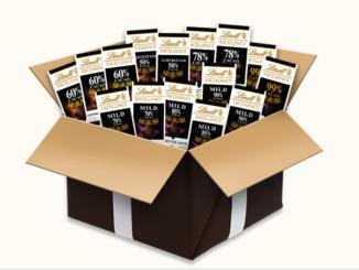 5 Lindt Schokoladenpakete zu gewinnen