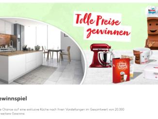 Küche zu gewinnen im Wert von 20.000 EUR