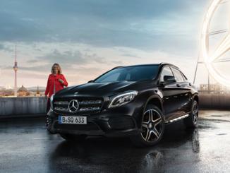 Mercedes Benz GLA zu gewinnen