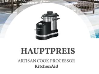 KitchenAid Artisan zu gewinnen