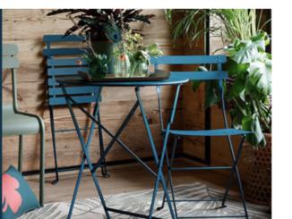 Gartentisch und Stühle zu gewinnen