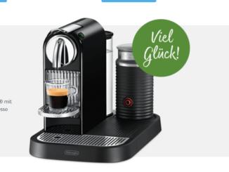 De'Longhi Nespresso Citiz & Milk Maschine