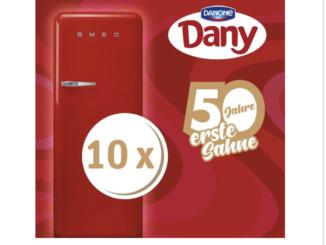 10 SMEG Kühlschränke zu gewinnen