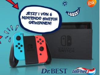 Nintendo Switch Konsole zu gewinnen