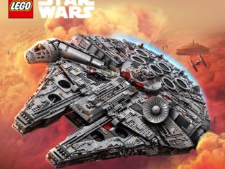 Lego Star Wars Millenium Falke zu gewinnen