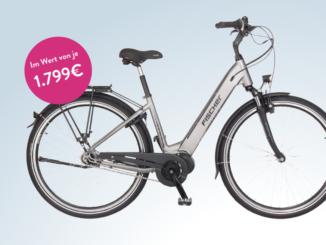 Fischer E-Bike im Wert von 1.800 EUR gewinnen