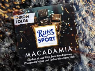 Macadamia Schokolade zu gewinnen