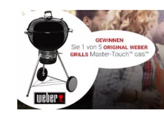 Weber Grill zu gewinnen
