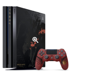 Playstation 4 im Monster Hunter Design