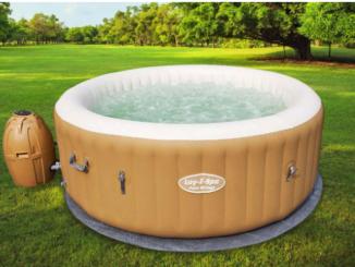Whirlpool für den eigenen Garten (inkl. Massagefunktion) zu gewinnen