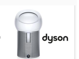 Dyson Luftfilter für Zuhause zu gewinnen