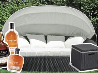 Gemütliches Outdoor Bett zu gewinnen