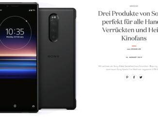 Sony Xperia Handy zu gewinnen