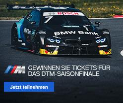 Tickets für das DTM Rennfinale gewinnen