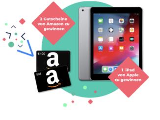 Apple iPad und Amazon Gutscheine zu gewinnen