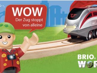 Brio Smart Tech Eisenbahn zu gewinnen