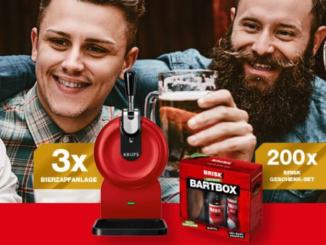 Bier-Zapfanlage zu gewinnen