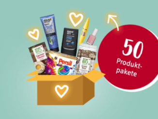 50 Rossmann Produktpakete zu gewinnen