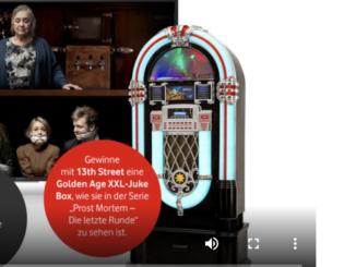 XXL Musik Jukebox zu gewinnen