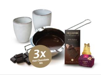 Hot-Chocolate-Kit zu gewinnen für gemütliche Nachmittage