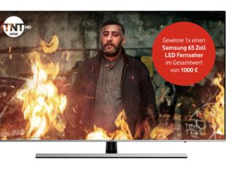 Samsung 65 Zoll LED Fernseher im Wert von 1.000 EUR zu gewinnen
