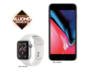 Apple iWatch und Apple iPhone zu gewinnen
