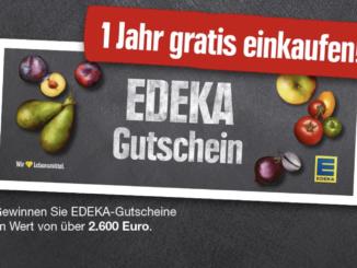 Der EDEKA-Adventskalender: ein Jahr lang umsonst einkaufen