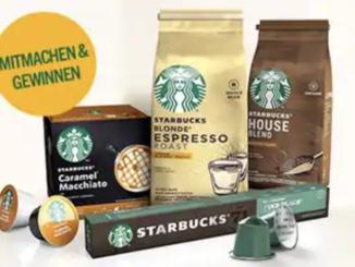 30 Starbucks Kaffee Pakete zu gewinnen