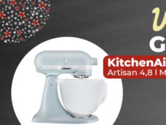 KitchenAid Artisan Küchenmaschine zu gewinnen