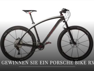 Porsche Bike RX im Wert von 3.000 EUR zu gewinnen