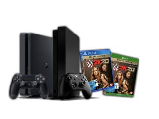 Playstation 4 und Xbox One zu gewinnen