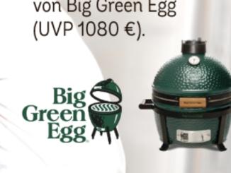 Keramikgrill im Wert von über 1.000 EUR zu gewinnen