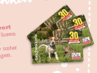 30x Freesnapf-Gutscheine jeweils im Wert von 50 EUR zu gewinnen