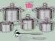 11 Teiliges Kochtopf-Set zu gewinnen