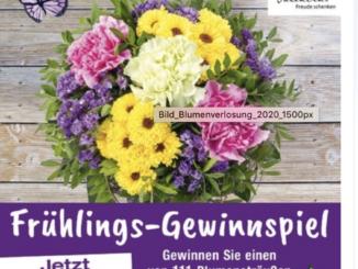 111 Blumensträuße von Valentins zu gewinnen