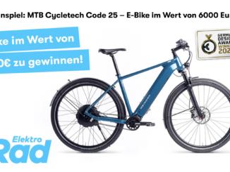 E-Mountainbike im Wert von über 6.000 EUR zu gewinnen