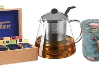 Edles Tee-Set zu gewinnen mit verschiedenen Sorten